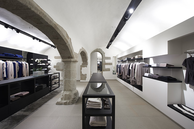 Repeat Cashmere store GenevaArchitecture photography